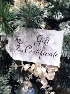 Upper Eden Gift Certificate